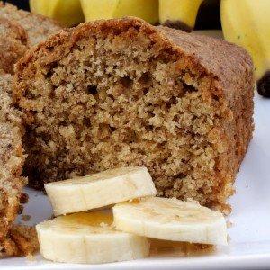receita de Bolo de Banana com Casca sem Glúten