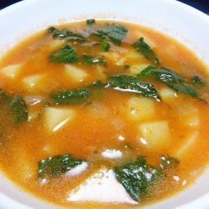 sopa de batata