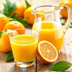Suco de laranja detox