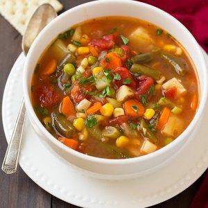 sopa simples e fácil