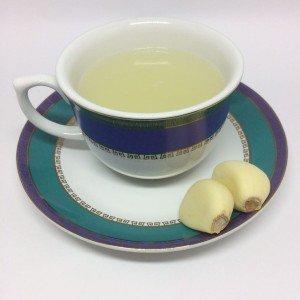 chá de alho